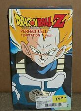 Dragon Ball Z Perfect Cell Temptation (VHS Uncut) NEW