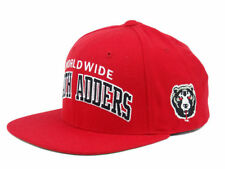 MISHKA x STARTER WORLDWIDE DEATH ADDERS SNAPBACK RED CAP HAT MEN WOMEN NEW ERA
