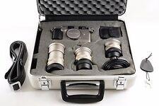 Contax G2 + 28mm F2.8 + 45mm F2 + 90mm F2.8 + TLA140 + Case  (3335)