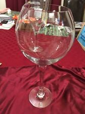Oversized Extra Large Giant Wine Glass 16.5 Inches Tall And 4.875 Inches Wide