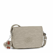 Kipling DELPHIN N Small Across Body/Shoulder Bag WARM GREY (Beige) RRP £55
