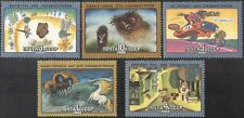 Russia 1988 Owl/Horse/Hedgehog/Car/Cinema/Cartoon Films/Animation 5v set (b4095)