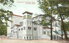 Vintage Postcard Theater At Meyers Lake Canton OH Stark County,