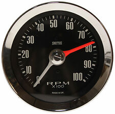 Smiths Classic Max Hand Tachometer / Rev Counter 80mm 0-10K RPM Chrome Bezel