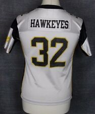 #32 VINTAGE IOWA HAWKEYES AMERICAN FOOTBALL JERSEY STARTER YOUTHS M / L