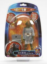 Doctor Who SEA DEVIL Figure - Brand New - K1 Build A Robot - Wave One
