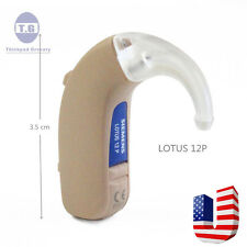 Brand New Siemens LOTUS High-Power 12P Digital BTE Hearing Aid USA