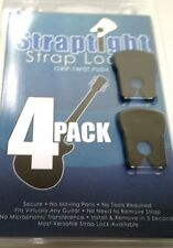 Straptight Strap Lock System  Set of 4  Easy Install  Black