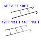 Garden Trampoline ladder 2 3 Step Safe Universal fit 6 8 10 12 13 14 15 ft
