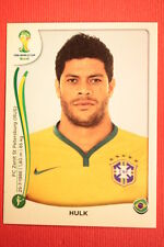 Panini BRASIL 2014 N. 49 HULK BRAZIL WITH BLACK BACK TOPMINT!!