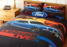 Ford Mustang the Legend Lives Queen Bed Quilt Cover Set - Great Gift Idea!