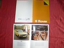 N°4674 / catalogue ROVER gamme 1976   english text   10.75