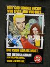 The Medusa Chain Promotional Poster 1984 DC Comics Graphic Novel #3  Ernie Colon