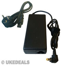 Acer Aspire 5738z Laptop Cargador De Batería Power Supply 19v 90w UE Chargeurs