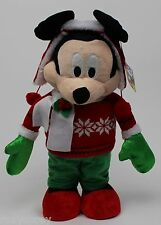 Christmas Winter Disney Mickey Mouse Porch Greeter 23 in Tall NWT