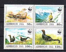 v1820 Aserbaidschan/  WWF 1994 Vögel-Birkhuhn  MiNr 161/64 **