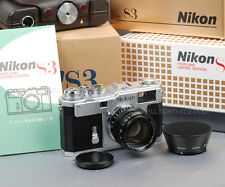 @L NEW@ Nikon S3 Limited Silver + Nikkor-S 50mm f1.4 YEAR 2000 50 F1.4 #012785