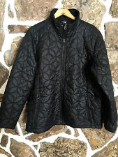 Woman's THE NORTH FACE Black Quilted Polyfill Lightweight Ski Jacket Sz XL