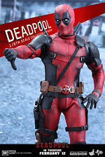 Sideshow HOT TOYS Marvel Deadpool  Sixth Scale Figure Movie Masterpiece 1/6