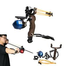 High Velocity Hunting Fishing Slingbow Wrist Slingshot Arrow Rest Catapult Gifts
