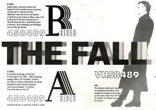 22/12/90 Pgn49 Advert: The Fall A Sides & B Sides Double Albums & Video 7x11