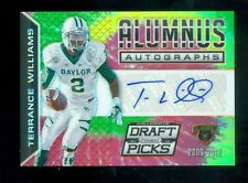 2015 Panini Prizm Draft Picks Alumnus Tie Dyed Autograph Terrance Williams 1/1