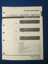YAMAHA H7000 H5000 H3000 AMP SERVICE MANUAL & TECHNICAL GUIDE ORIGINAL FACTORY