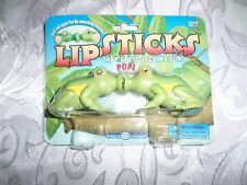 "Lipsticks Lip-Locking Fun Lip-smacking Sounds Frogs 6"" Treefrog Toy Club Earth"