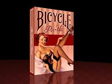 BICYCLE PIN-UP DECK OF PLAYING CARDS BY COLLECTABLE & USPCC MAGIC TRICKS POKER
