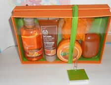 The Body Shop Five (5) Piece Satsuma Gift Set NEW