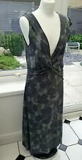 Sandwich Ladies Designer Lagenlook  Soft Jersey Long Tunic Dress Size Large