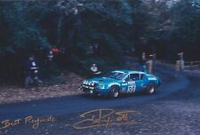 Jean Ragnotti Hand Signed Photo 12x8 Alpine-Renault Rally.