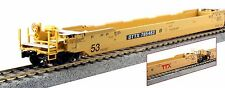 Kato 30-9049, HO Scale Gunderson MAXI-IV Well 3 Unit Car Set TTX #765122, 309049