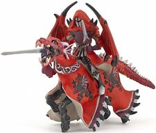 Papo 36010 Winged Knight and Dragon Horse Mount Set Toy Gamer Model - NIP