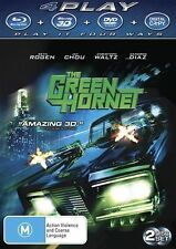 The Green Hornet (Blu-ray, 2011, 2-Disc Set)