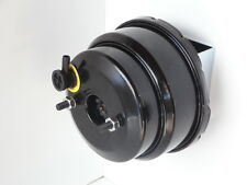 HOT ROD POWER BRAKE BOOSTER 7 INCH DUAL DIAPHRAM BLACK POWDER COATED