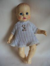 """VINTAGE 1971 IDEAL TOY CORP PLASTIC 12.50"""" TALL DOLL"""