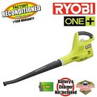 Ryobi P2102 ONE+ 18-Volt 120 mph Cordless Electric Blower ZRP2102 No Battery