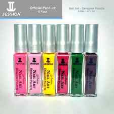 Jessica Artiste Nail Art Designer Palette Colour Polish Varnish 6 pack (6x8.8ml)