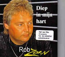 Rob Zorn-Diep In Mijn Hart cd single