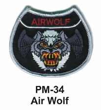 "3"" AIR WOLF Embroidered Military Patch"