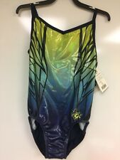 NEW  GK Nastia Liukin Daring Dragonfly Leotard. Size  Adult Medium AM