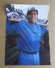 """ANDRES GALARRAGA AUTOGRAPHED SIGNED MONTREAL EXPOS 8"""" X 11"""" COLOR MAGAZINE PHOTO"""