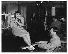 PEPPER on set still JANE WITHERS and composer GENE ROSE at piano - (b816)