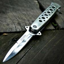 TAC-FORCE STILETTO Spring Assisted POCKET FOLDING KNIFE Mirrored Godfather NEW