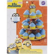 Wilton - Minions Cupcake/Treat Stand - Hold 24 Cakes