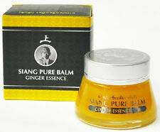 Siang Pure Balm Ginger Essence 20 g Muscle Pain Relieve Dizziness Insect Bite