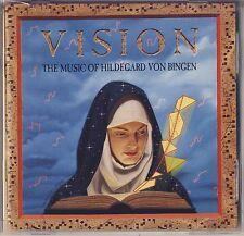 Vision: The Music of Hildegard von Bingen (CD, Nov-1994, Angel Records) Like New