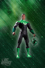 DC: Blackest Night: JOHN STEWART (GREEN LANTERN) figure - RARE (Justice League)