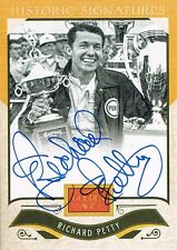 2012 Panini RICHARD PETTY # RP Golden Age Historic Signatures Autograph